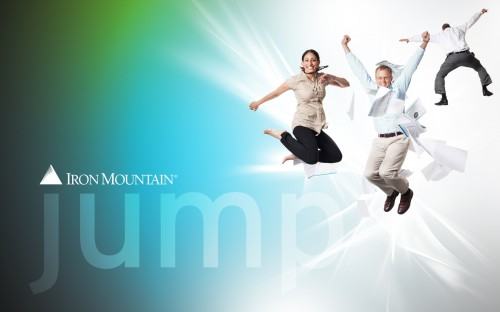 JUMP theme Iron Mountain desktop wallpaper