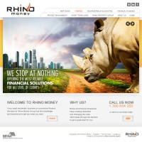 Rhino Money redesigned